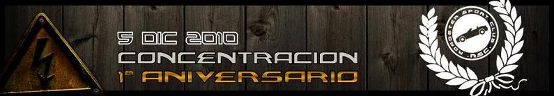 I Aniversario: I Aniversario RSC