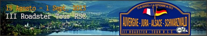 III Tour: Auvernia-Alsacia-Jura-Selva Negra