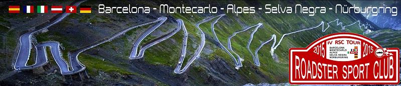 IV Tour: Rally Monaco/Alpes/Selva Negra/Nurbur