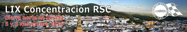 LIX Concentración: Sierra norte de Sevilla