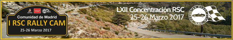 LXII Concentración: I RSC Rally CAM