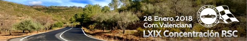 LXIX Concentración: Comunidad Valenciana
