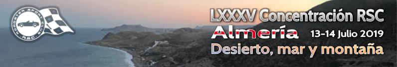 LXXXV Concentración: Desierto, Mar y Montaña
