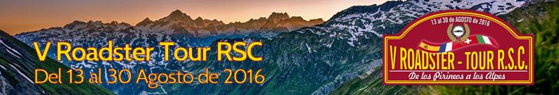 V Tour: De los Pirineos a los Alpes