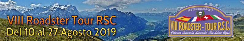 VIII Tour: Pirineos-Auvernia-Limousin-Alto Loira-Alpes