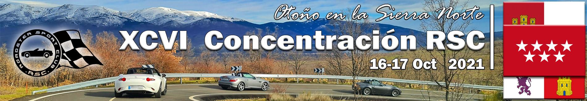 XCVI Concentración: Otoño en la sierra norte