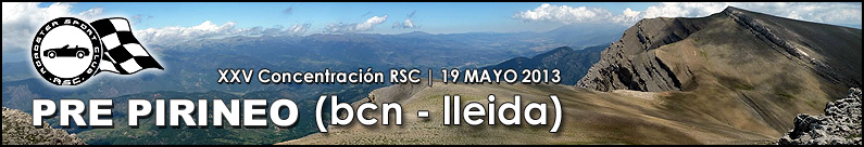 XXV Concentración: Pre-Pirineo