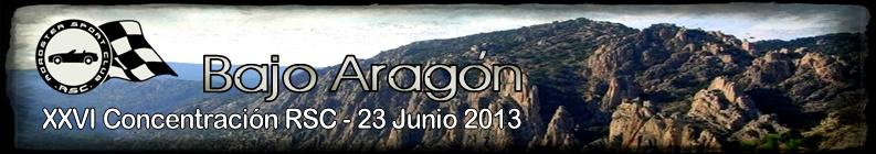 XXVI Concentración: Bajo Aragón